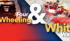 Our most popular multisport adventure combines all the excitement of four wheeling and the thrills of whitewater rafting
