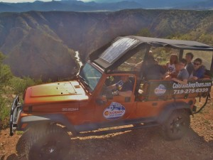 Colorado Jeep Tour Fremont Peak Colorado Jeep Tours