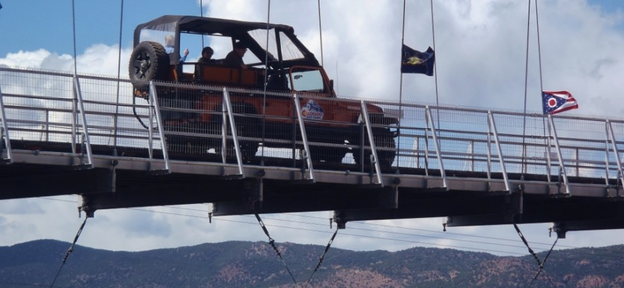 colorado jeep tours over the royal gorge bridge