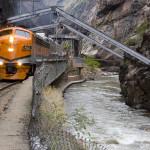 Hanging Bridge Royal Gorge Railroad