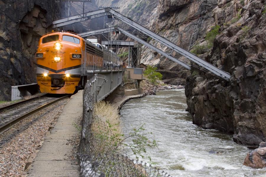 Hanging Bridge Royal Gorge Railroad Colorado Jeep Tours
