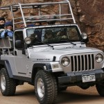 Tour Jeep with passengers Colorado Jeep Tours
