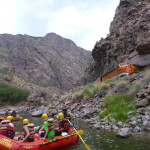 Colorado Jeep Tours whitewater rafting Royal Gorge