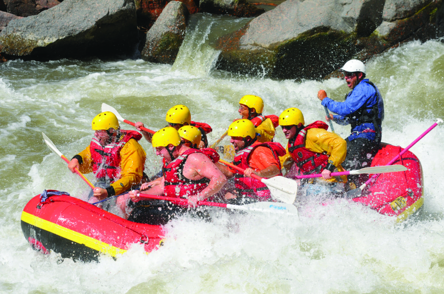 whitewater rafting Arkansas river Colorado Jeep Tours