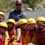 whitewater rafting trip Arkansas river Colorado Jeep Tours