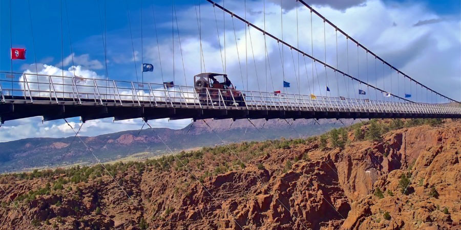 Colorado Jeep Tours Royal Gorge Bridge