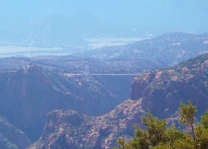 The Royal Gorge fire in Canon City, CO is a major tourist spot for summer travelers
