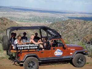 Fremont Peak view Colorado Jeep Tours