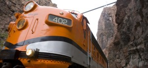 Royal Gorge Route Railroad in the Royal Gorge Colorado Jeep Tours