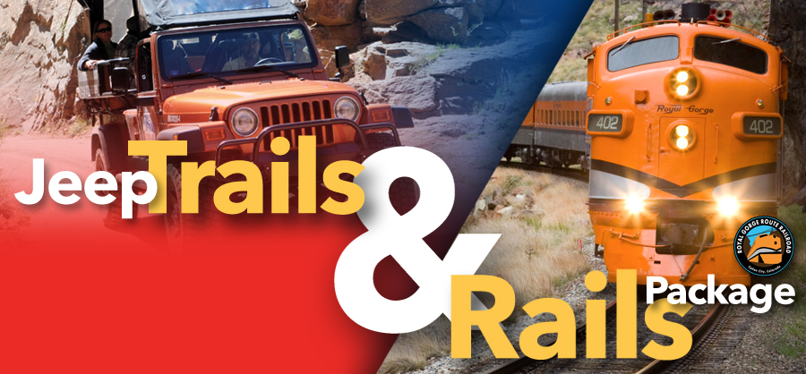 Gear up for one of the most unique experiences in Colorado, climb aboard for the Jeep Trails and Rails