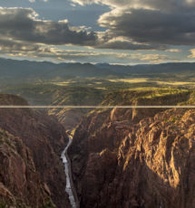 Royal Gorge Bridge from Point Sublime