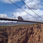 Driving Over the Royal Gorge Bridge Colorado Jeep Tours