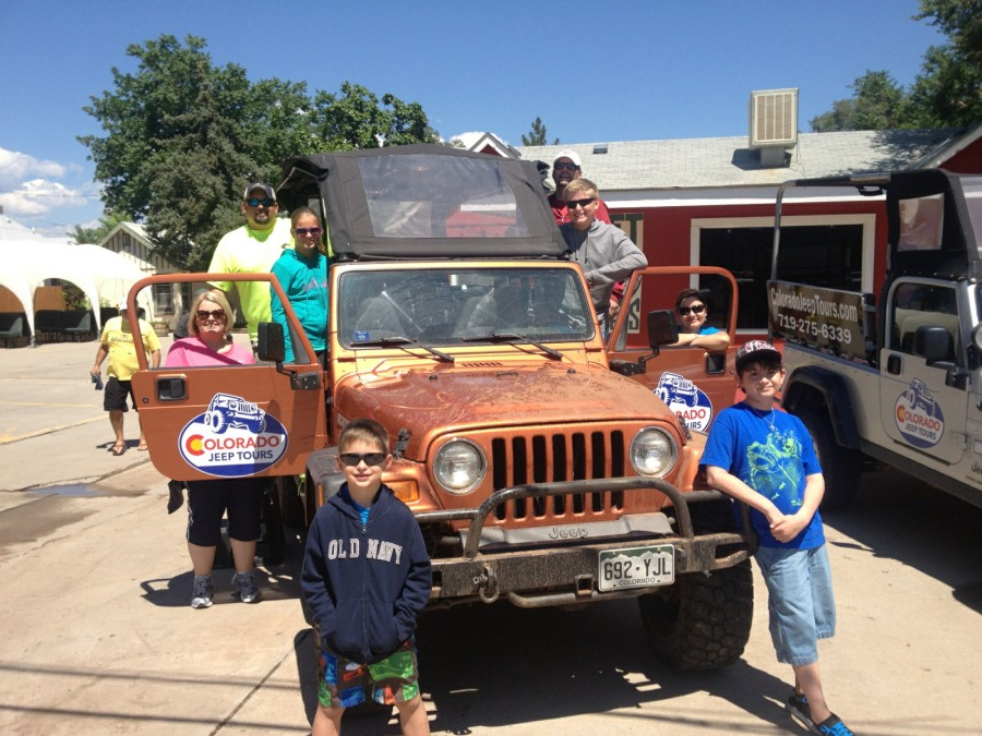 Family Jeeping