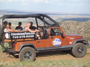 Top of Fremont Peak Colorado Jeep Tours