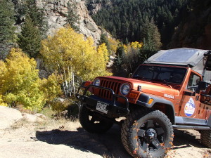 Fall Jeep Tours in Colorado