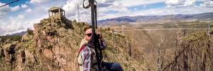 Cloudscraper Zipline 1 Colorado Jeep Tours