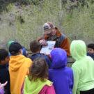 Colorado Jeep Tours guide explaining area to children