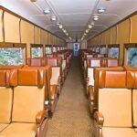 Royal Gorge train seats in coach
