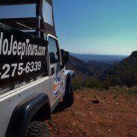 Royal Gorge Jeep side view Colorado Jeep Tours