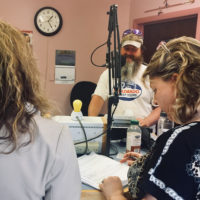 Will at KRLN Radio April 30 2018