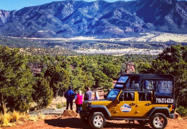 Colorado jeep tours red canyon group